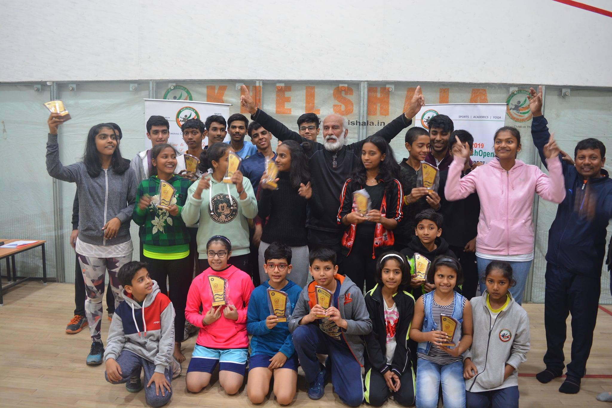 4th Khelshala Junior Squash Open, Chandigarh UT, India