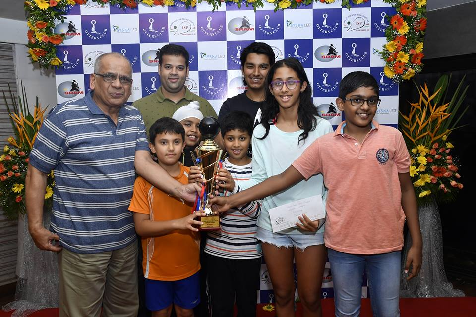 OTTERS INTER CLUB JUNIORS SQUASH LEAGUE 2018