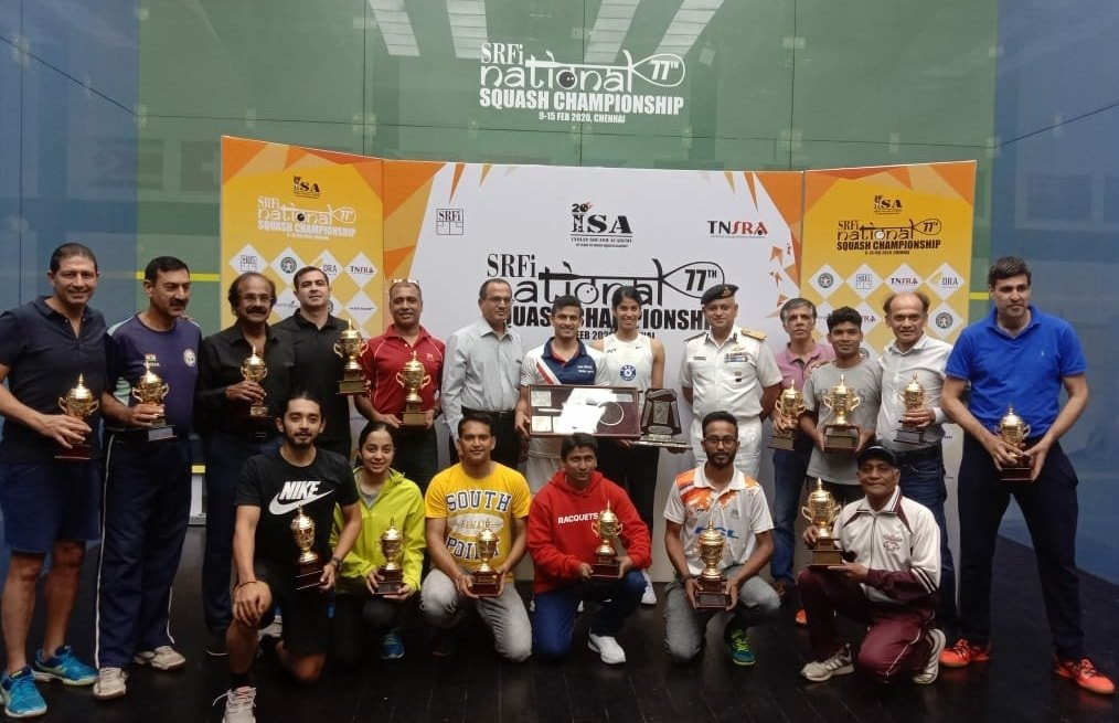 77th SRFI National Squash Championship 2020