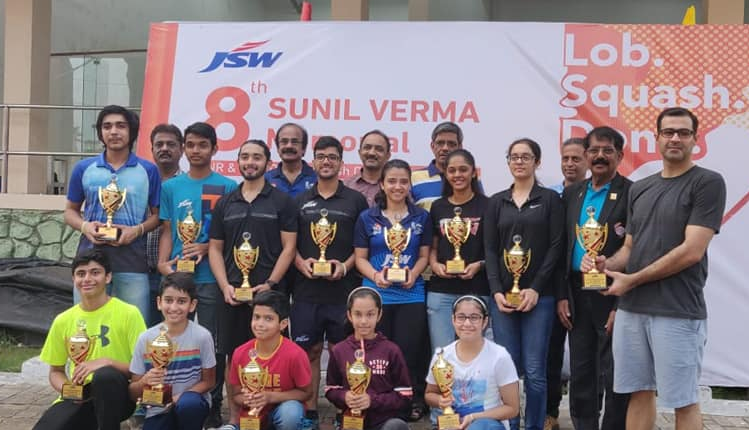 8th JSW Sunil Verma Memorial Junior & Senior Open